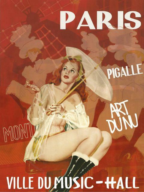 Poster Paris Music Hall