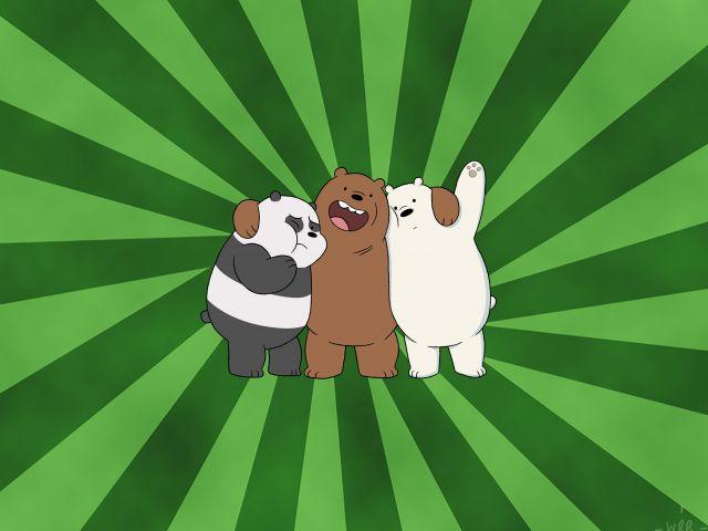 Poster Amigos Ursos
