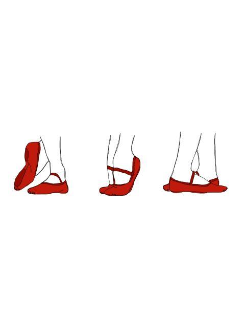 Poster Sapatilhas de Balé