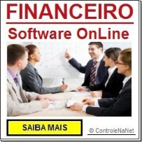 CONTROLE FINANCEIRO - Software OnLine