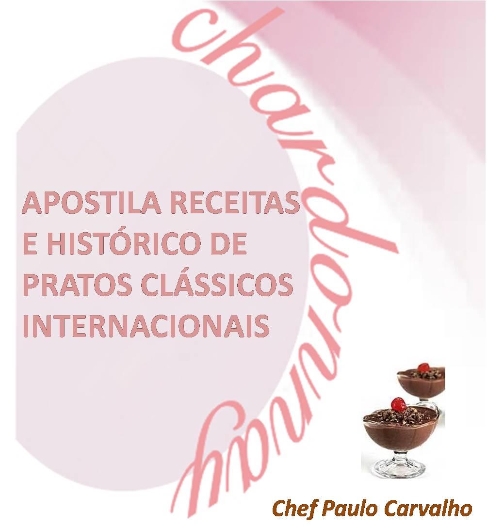 Apostila Receitas e Histórico de Pratos Clássicos Internacionais