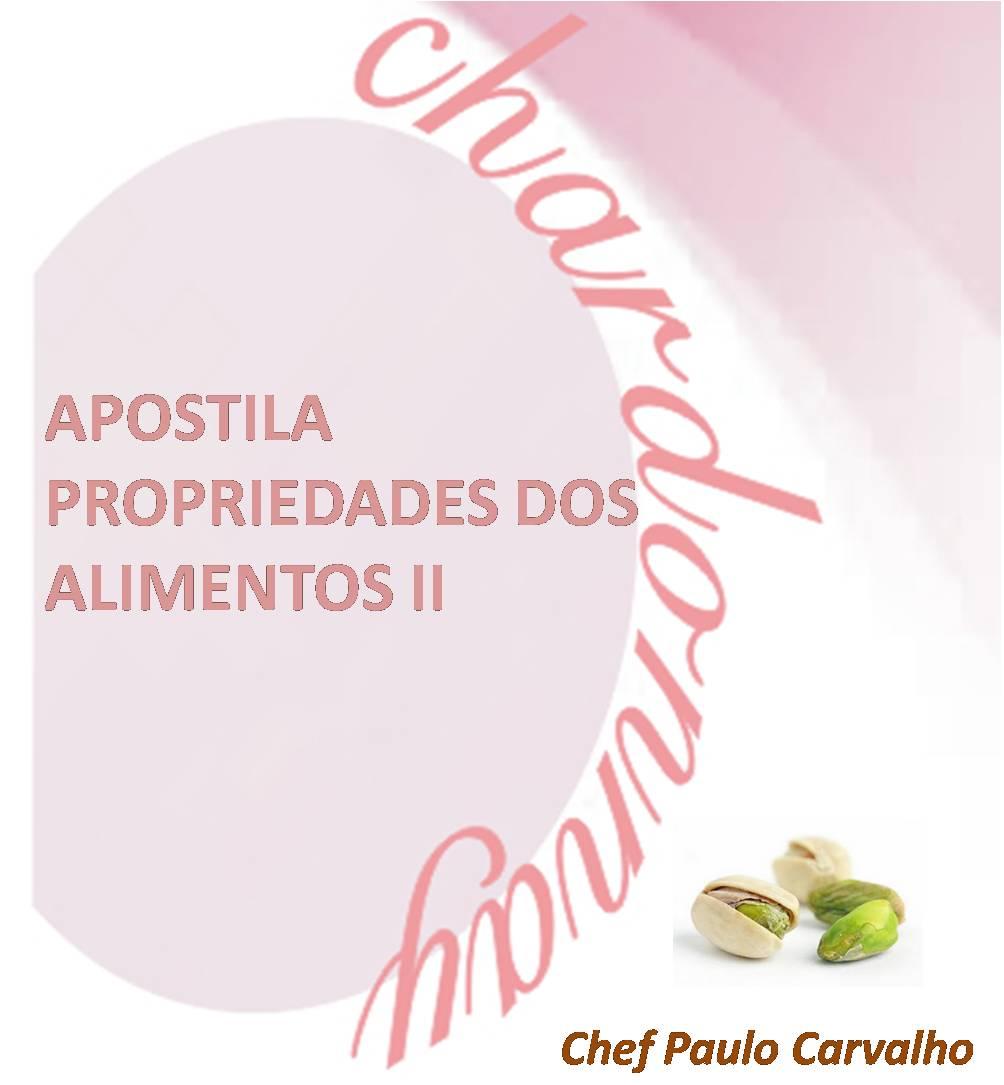 Apostila Propriedade dos alimentos II