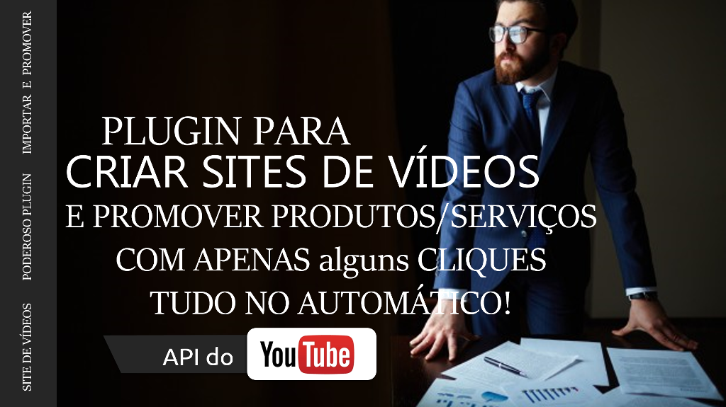 Plugin Wordpress Máquina de Vídeos Afiliado 100% Automático