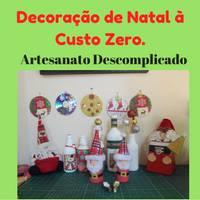 Decoração de Natal à Custo Zero - Artesanato Descomplicado