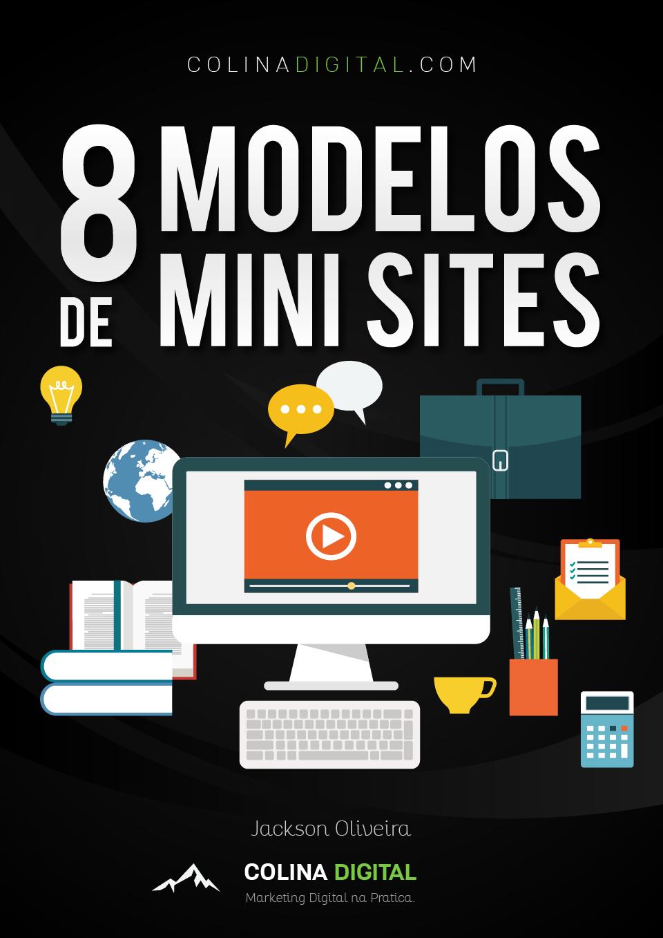 8 Modelos de Mini Sites