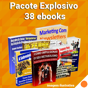Pacote Explosivo - 38 Ebooks