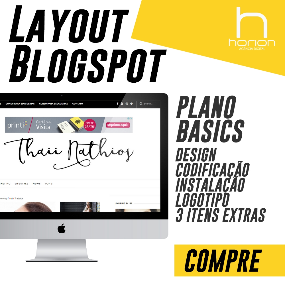 Layout Blogspot | Plano Basics