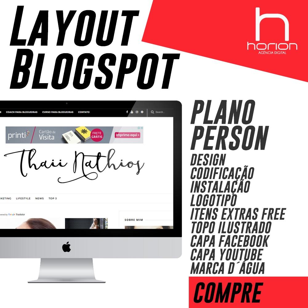 Layout Blogspot | Plano Person