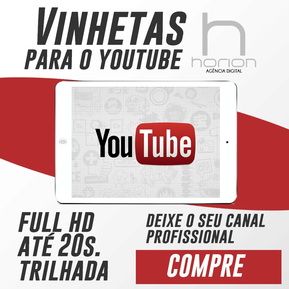 Vinheta para Canal no Youtube