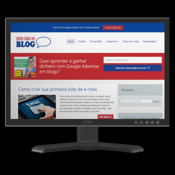 [Desativado] Como ter um blog já pronto