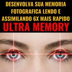 ULTRA MEMORY - SUA MEMORIA FOTOGRAFICA