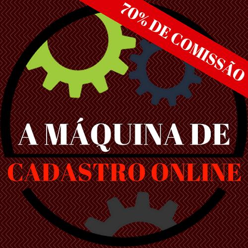 A Máquina de Cadastro online 2.0