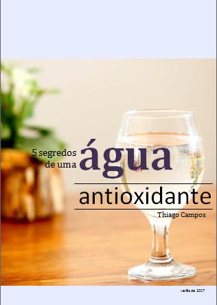Ebook 5 segredos de uma água antioxidante