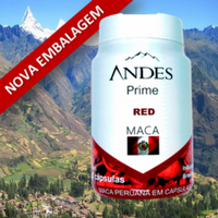 Andes Prime Red Maca Peruana (1 Frasco)