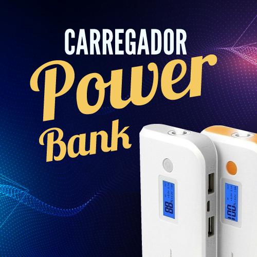 Carregador Super Power Bank  Não Fique Sem Bateria em Seu Smartphone
