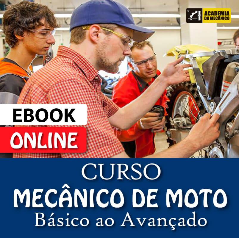Curso Mecânico de Moto Completo (Ebook) | Academia do Mecânico