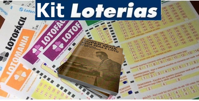 Kit loterias Completo