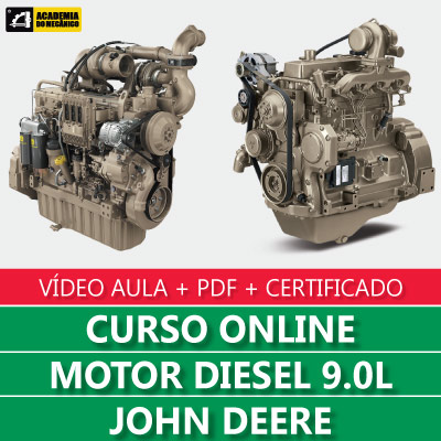 Curso Motor Diesel 9.0L John Deere