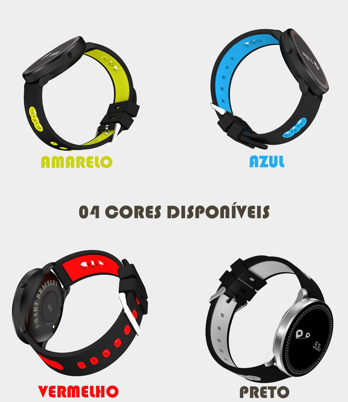 Relógio MegaWatch Saúde Digital