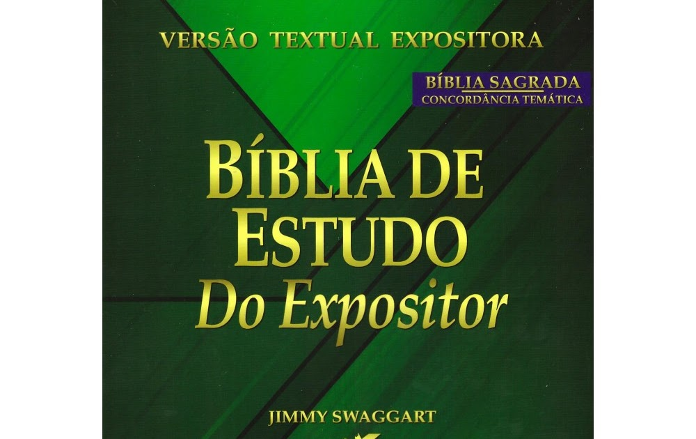 A BÍBLIA SAGRADA DO EXPOSITOR