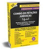 COMBO DE PETIÇÕES JURÍDICAS 14x1