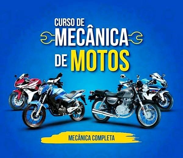 Curso Passo A Passo Mecânico De Motos Completo Online