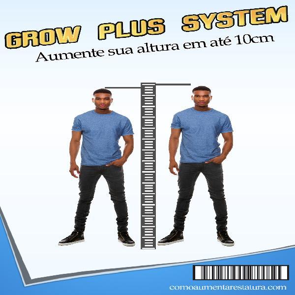 Grow Plus System - Aumente Sua Altura Em Até 10cm!