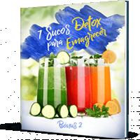 E-book Os 7 Melhores Sucos Detox Para Emagrecer