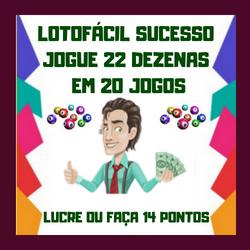Lotofácil 22 Dez.20 Jogos