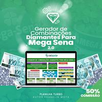 Gerador de Combinações Diamantes Para Mega Sena 2.0