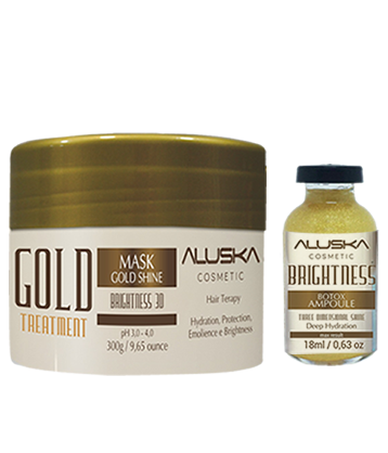 ALUSKA COSMETIC - Gold Brightness 3D