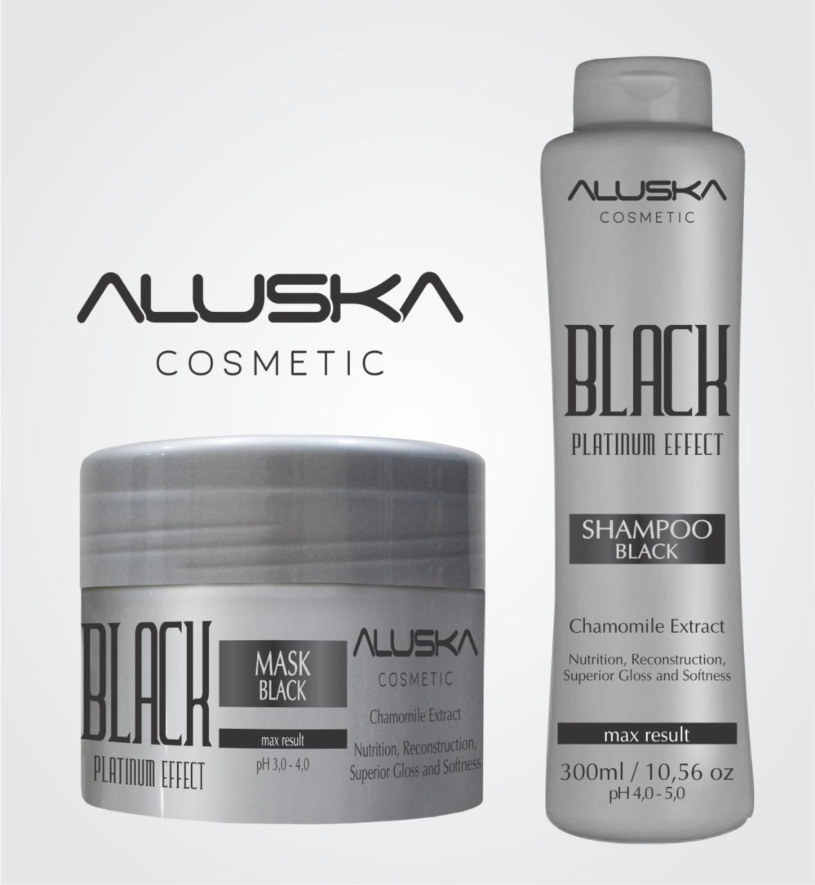 ALUSKA COSMETIC - Black Platinum Effect