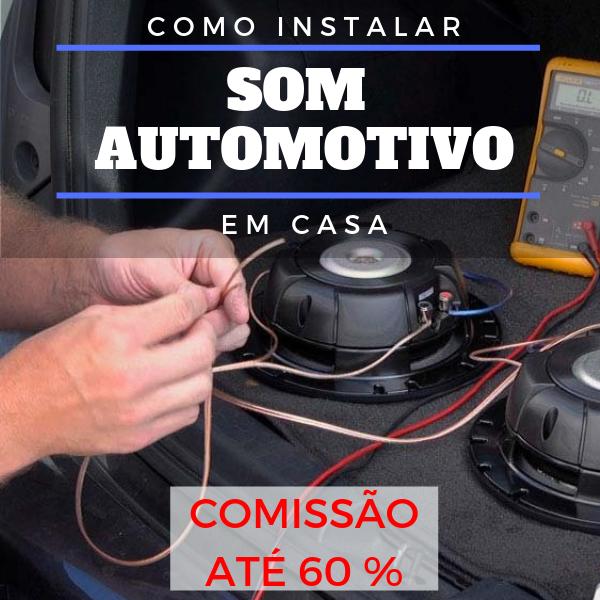 Como montar som automotivo em casa  FÁCIL E RÁPIDO