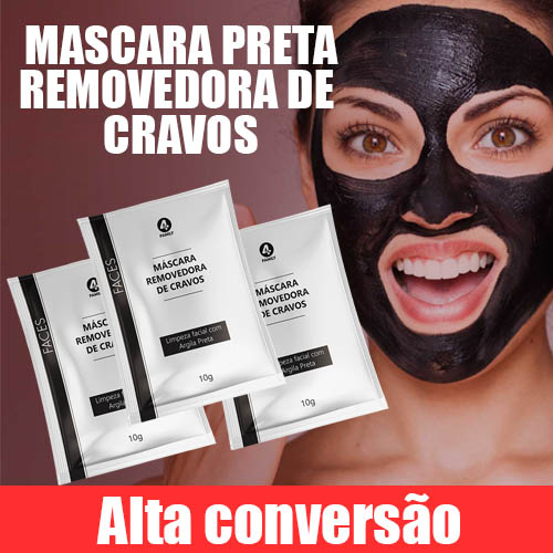 Mascara removedora de cravos - POWER SKIN