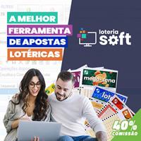 LoteriaSoft - O melhor programa para as loterias brasileiras