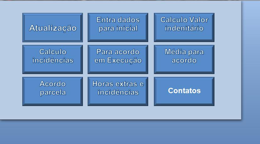 Planilha de Cálculos Trabalhistas Automática