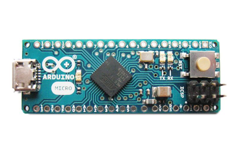 Arduino Micro sem conectores