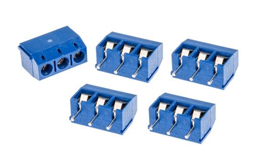 Borne para PCI , 3 fios (5 unidades)