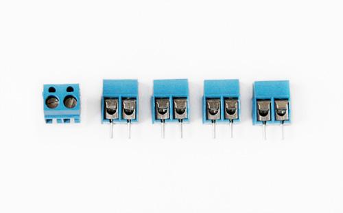 Borne para PCI , 2 fios (5 unidades)