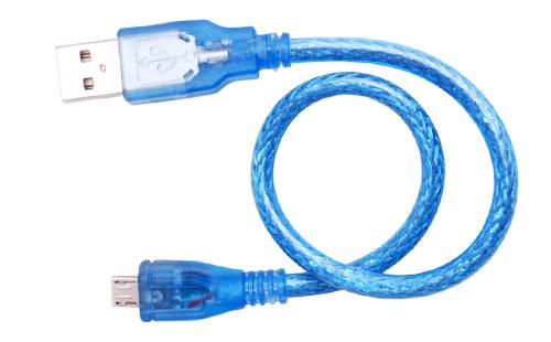 Cabo USB microB 30cm