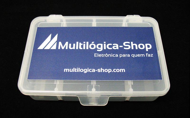 Caixa para componentes mini