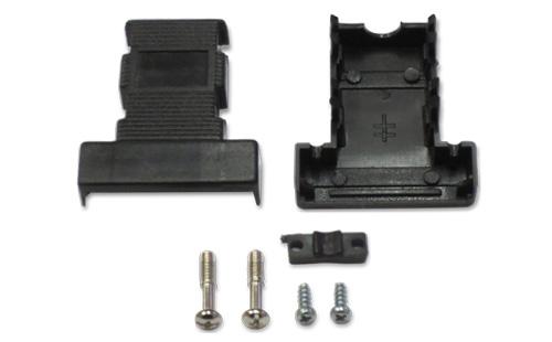 Capa para conector DB9 com trava plástica