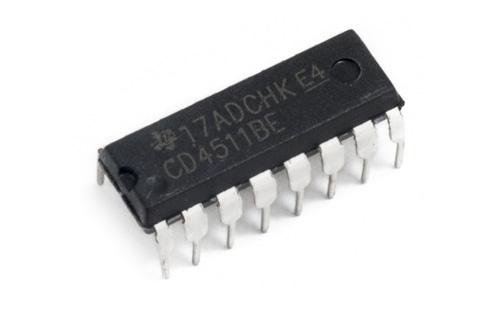 Circuito CD4511