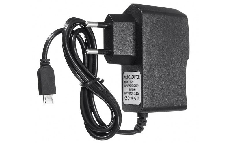 Fonte USB microB 5V 2,5A
