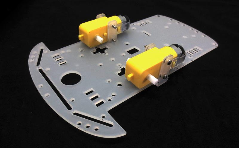 Montagem passo a passo do Kit Chassi robótico 2WD - Multilógica-Shop