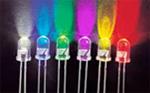 Kit de LEDs de alto brilho - referência de cores