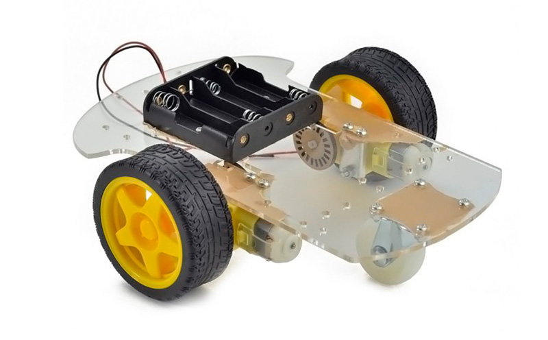 Kit Chassi robótico 2WD