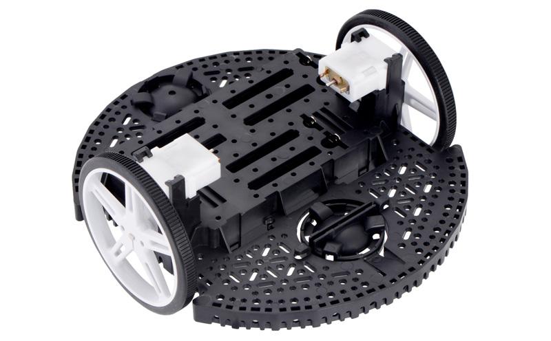 Kit Chassi robótico Romi - preto