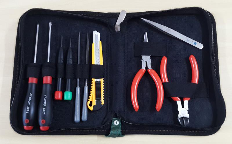 Kit de ferramentas - 11 peças