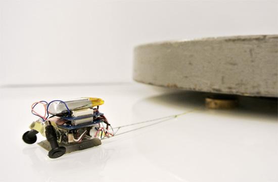 MicroTugs - As formigas robóticas capazes de mover toneladas.